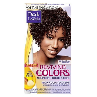 Dark and Lovely 392 Reviving Colors Ebone Brown