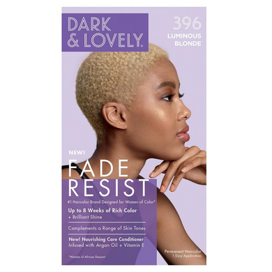 Dark and Lovely 396 Fade Resist Luminous Blonde Rich Conditioning Color