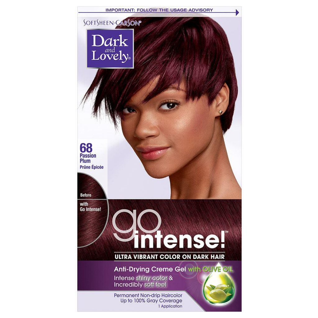 Dark and Lovely 68 Go Intense Passion Plum Ultra Vibrant Color