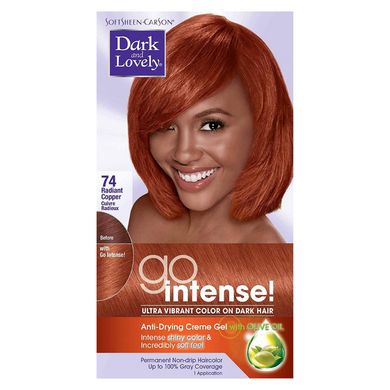 Dark and Lovely 74 Go Intense Radiant Copper Color