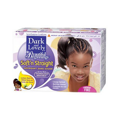 Dark and Lovely Beautiful Beginnings Scalp Care Relaxer Fine