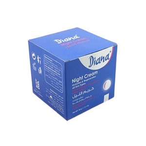 Diana Night Cream 60g With Vitamin E, Provitamin B5 And Plant Extracts