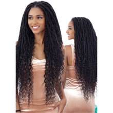 Load image into Gallery viewer, FreeTress Equal Hand-Tied Lace Part Braid Wig - Mermaid Loc