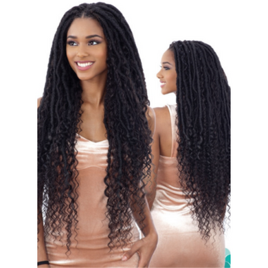 FreeTress Equal Hand-Tied Lace Part Braid Wig - Mermaid Loc