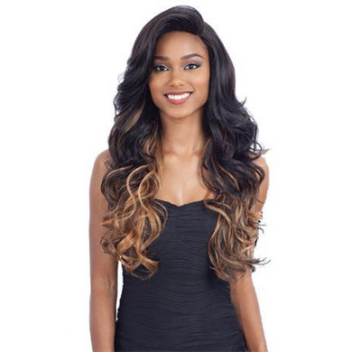 FreeTress Equal Synthetic 5 Inch Lace Part Volume Bang Vina Wig