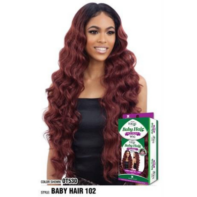 FreeTress Equal Synthetic Lace Front Wig - Baby Hair 102