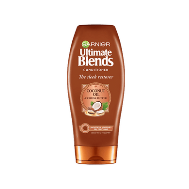 Garnier Ultimate Blends Coconut Oil Conditioner for Frizzy Hair 360ml