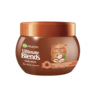 Garnier Ultimate Blends Coconut Oil Frizzy Hair Treatment Mask 300ml