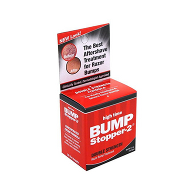 High Time Bump Stopper-2 Razor Bump Treatment Double-Strength 0.5oz