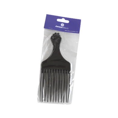 JB (PC045) Afro Comb Plastic With Handle