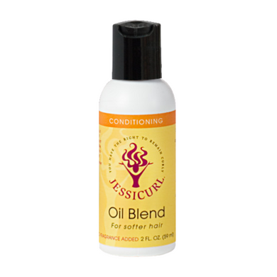 Jessicurl Oil Blend for Softer Hair Island Fantasy 2oz