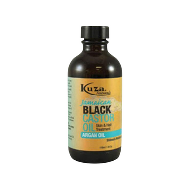 Kuza Jamaican Black Castor Oil Skin & Hair Treatment Argan Oil 4oz