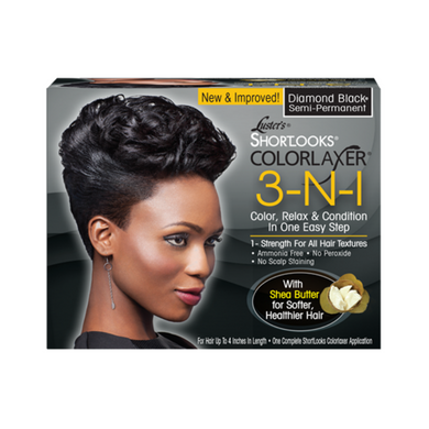Luster's ShortLooks Colorlaxer 3in1 Diamond Black Semi-Permanent