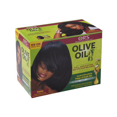 ORS Olive Oil No-Lye Hair Relaxer Kit Normal