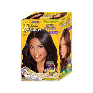 Profectiv Mega Growth No-Lye Relaxer Regular 1 Full Head Applications( 2 Touch-Up Applications )