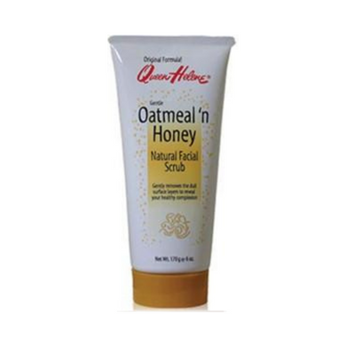 Queen Helene Oatmeal N Honey Natural Facial Scrub 6oz