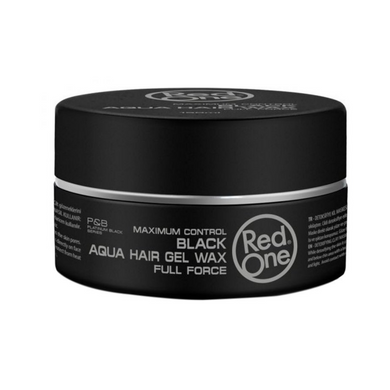 Red One Black Aqua Hair Gel Wax Full Force 150ml
