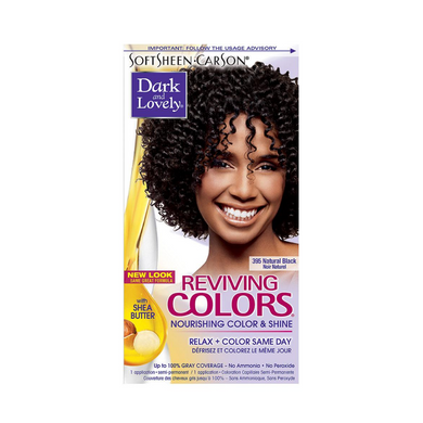 Dark & Lovely Reviving Colors 395 Natural Black