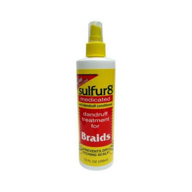 Sulfur8 Medicated Braid Spray 12oz