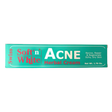 Swiss Soft'n White Acne Cream 1.76oz