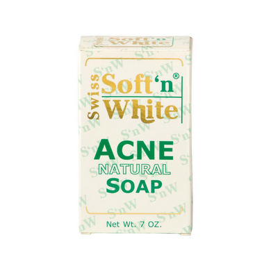 Swiss Soft'n White Acne Soap