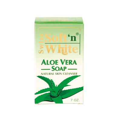 Swiss Soft'n White Aloe Vera Soap