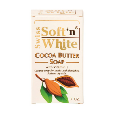 Swiss Soft'n White Cocoa Butter Soap