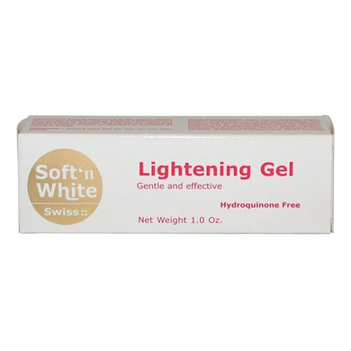 Swiss Soft'n White lightening Gel 30g