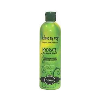 Texture My Way Hydrate With Shea Butter & Olive Oil Intensive Moisture Softening Shampoo 12oz