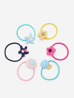 Toddler Girls Cartoon Hair Tie Set 40pcs - FD