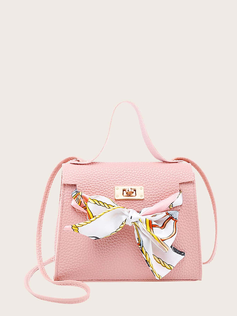 Girls Twilly Scarf Satchel Bag