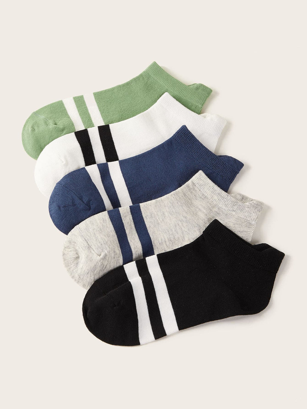 5pairs Toddler Boys Color Block Socks - FD