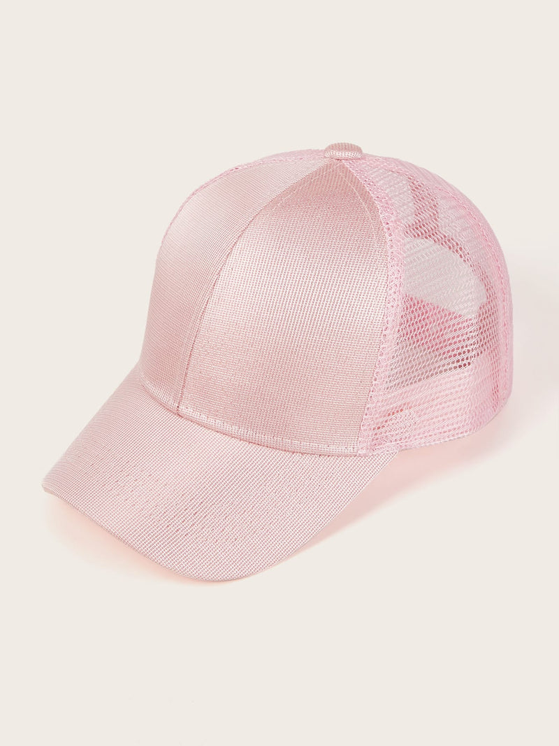 Toddler Girls Solid Baseball Cap