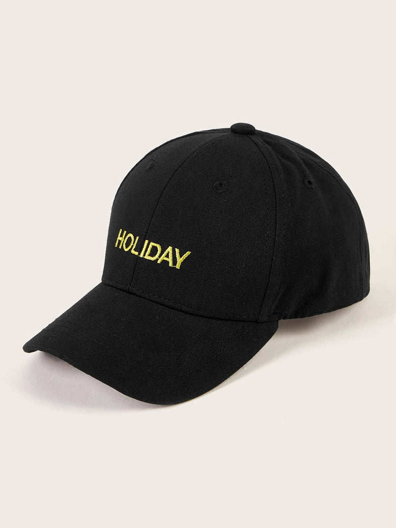 Kids Letter Embroidery Baseball Cap - FD