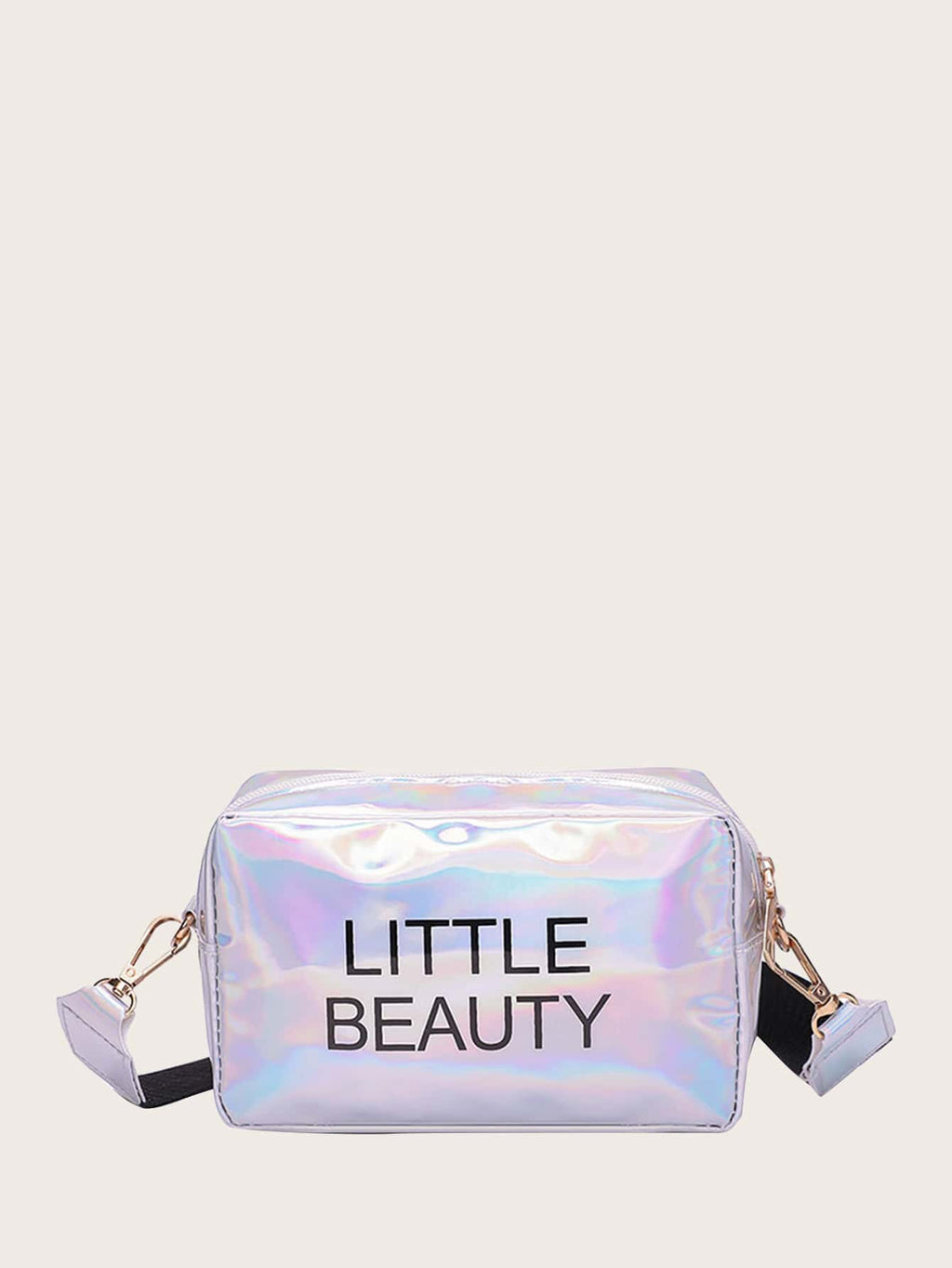 Girls Letter Graphic Crossbody Bag