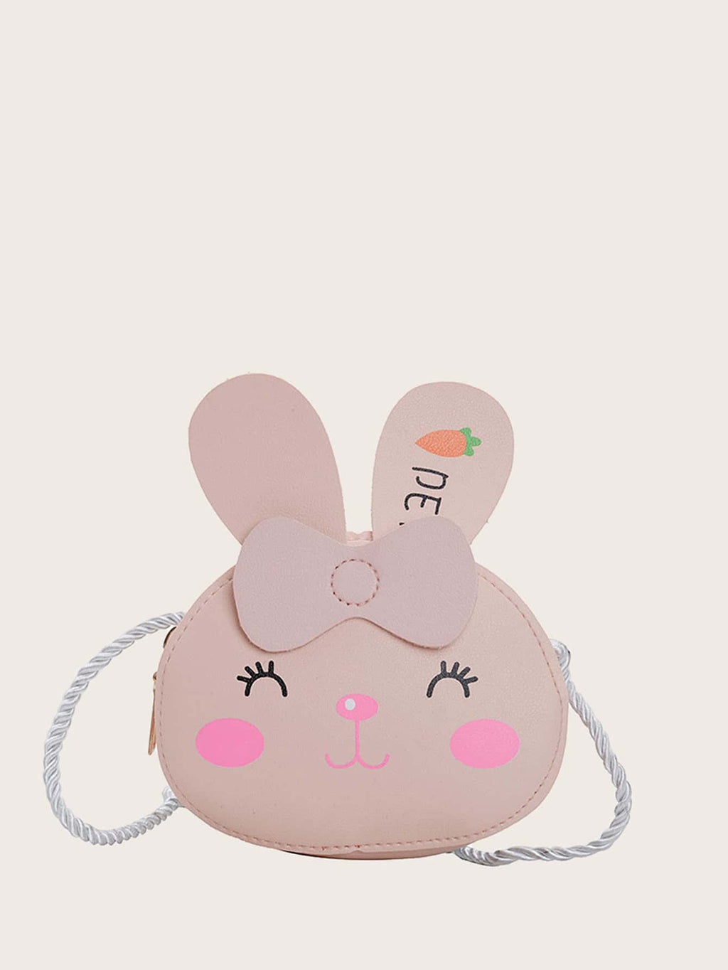 Kids Rabbit Design Crossbody Bag