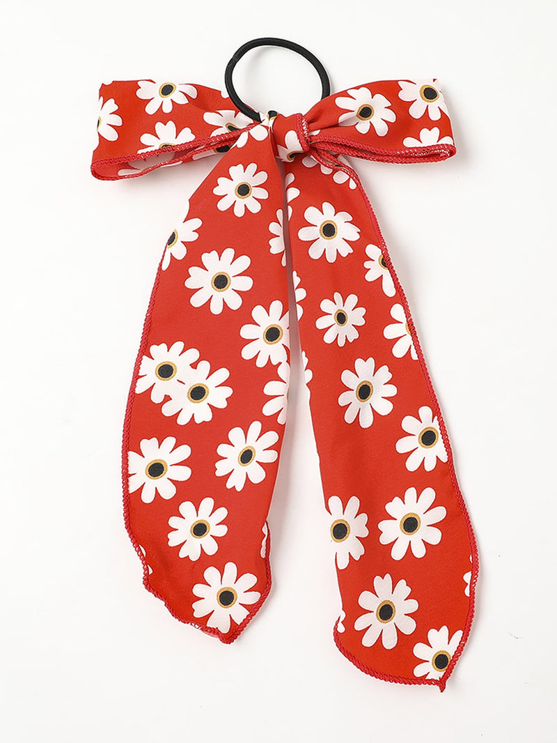 6pcs Girls Daisy Pattern Hair Tie