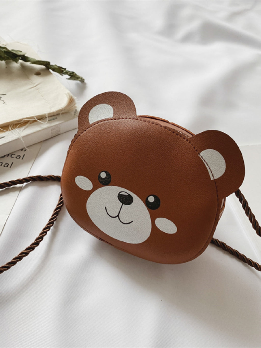 Girls Cartoon Shaped Crossbody Bag