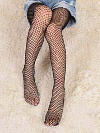 Toddler Girls Hollow Out Fishnet Tights