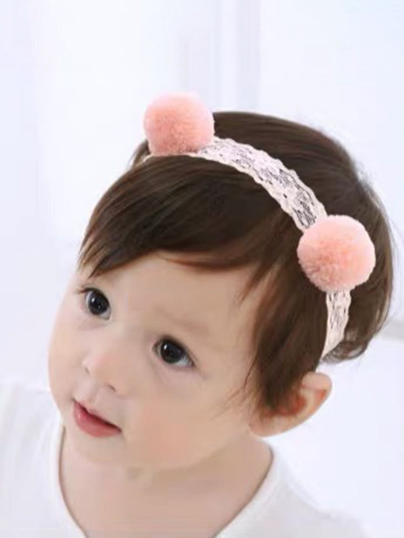 3pcs Baby Girl Flower Design Headband