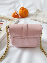 Girls Sequin Detail Chain Crossbody Bag