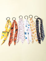 6pcs Girls Floral Pattern Hair Tie