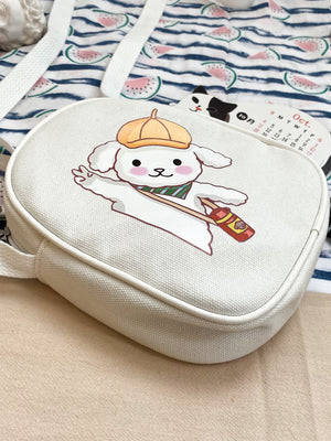 Girls Cartoon Graphic Crossbody Bag