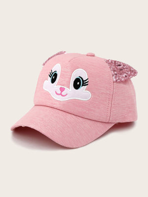Toddler Kids Cartoon Embroidery Baseball Cap