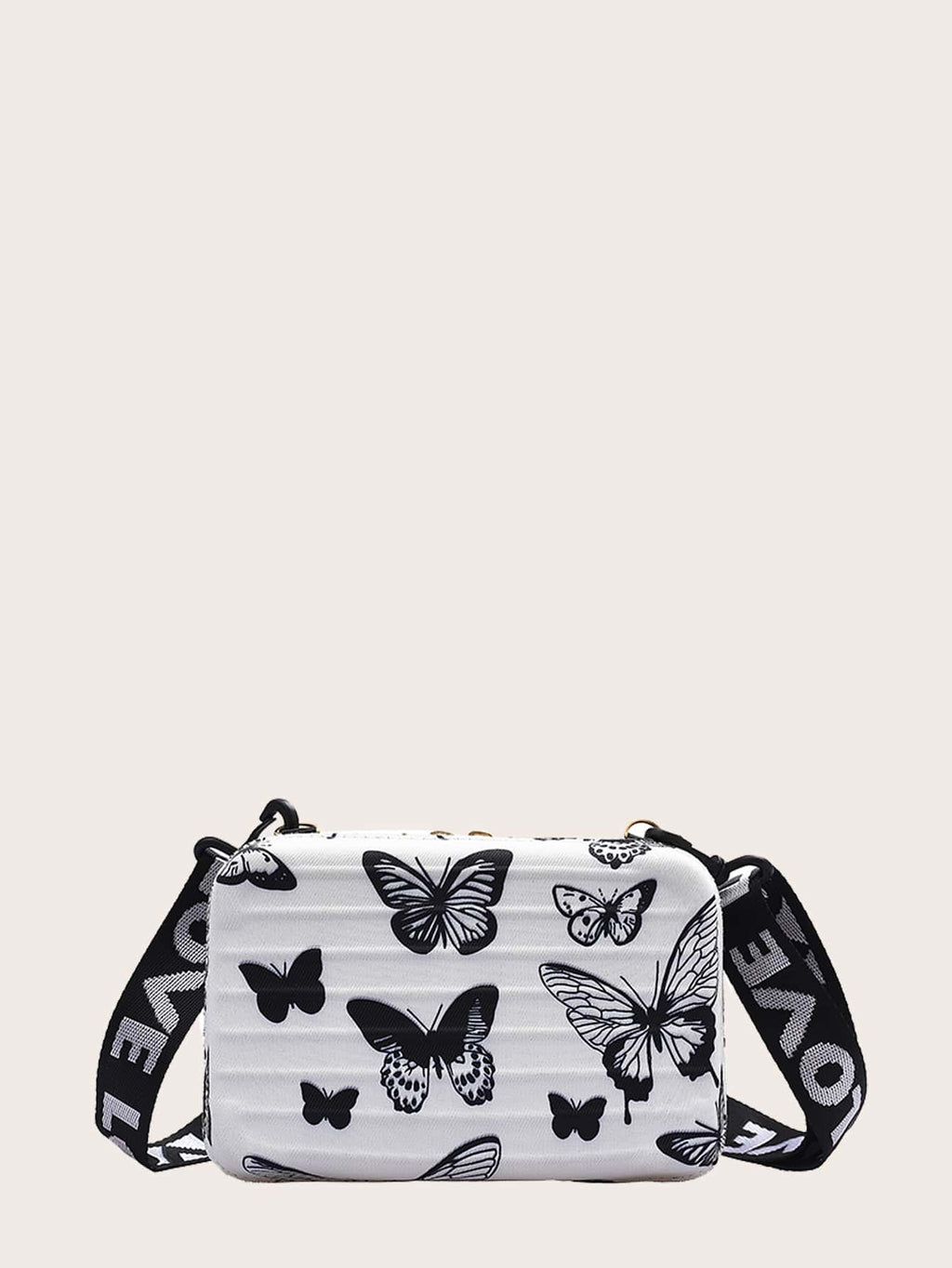 Girls Butterfly Graphic Crossbody Bag