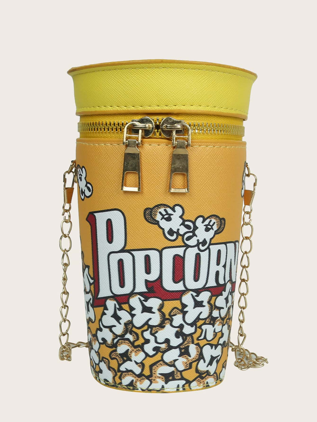 Girls Popcorn Chain Bucket Bag