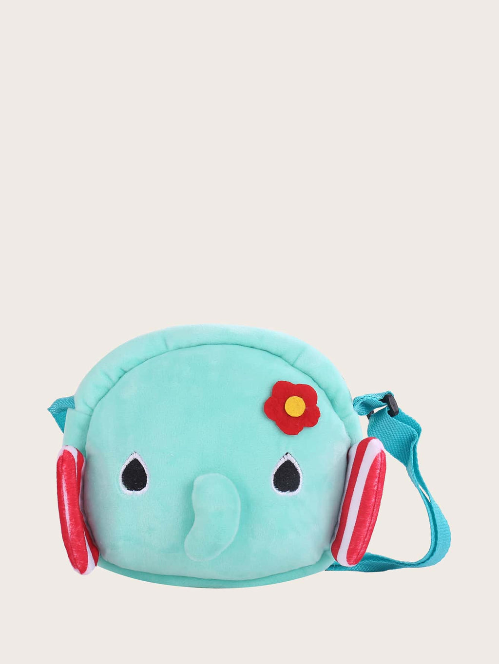 Kids Cartoon Elephant Design Crossbody Bag