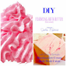 DIY Foaming Bath Butter E-book