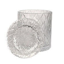 Ripples Candle Vessel - Clear