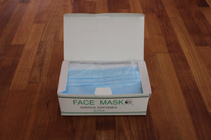 Pack of 50 Surgical Face Masks